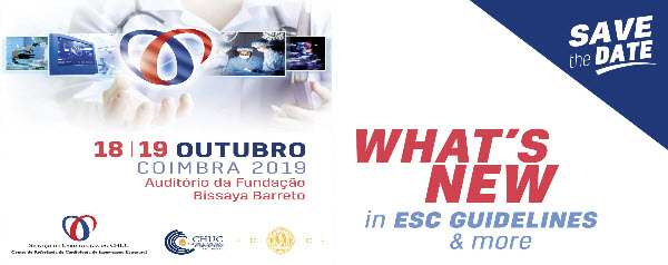 "Reunião ""What's New in ESC Guidelines"" 2019"